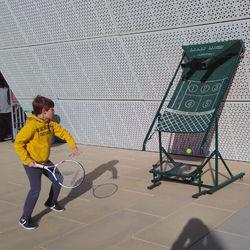 Factory Supply Tennis Trainer Machine
