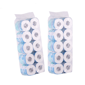 Customize soft white 2 layer papel higienico toilet paper tissue