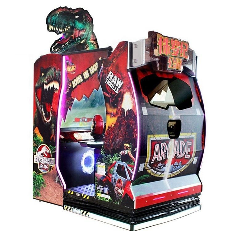 Jurassic Park 2 Pemain Simulator Arcade Shooting Game Mesin