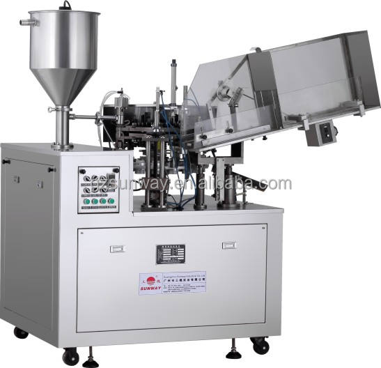 Automatic Aluminum Tube Filling Sealing Machine for Ointment Adhesives