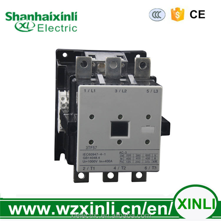 XINLI high demand product CJX1 3TF57 475a SIEMENS electrical magnetic types of ac Contactor