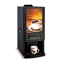 High quality fully automatic home or office use instant coffee machine convenient outdoor coffee machine