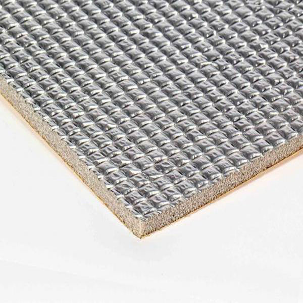 aluminum foil sound rubber insulation flexible eva foam sheet