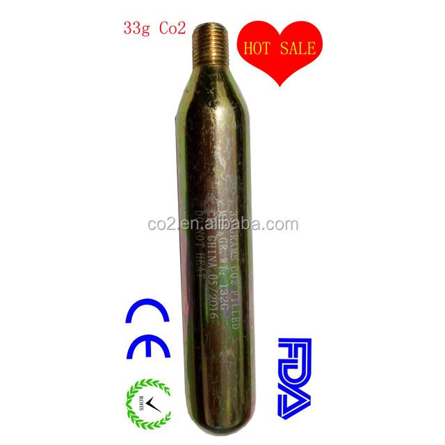 33 그램 co2 gas cartridge