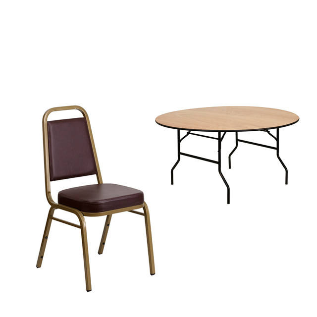 hot sale banquet hall chairs and tables