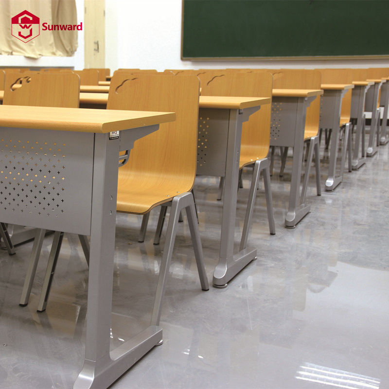 Table And Chair Classroom Wooden School Desk Student Furniture Study Table And Chair Adult Classroom