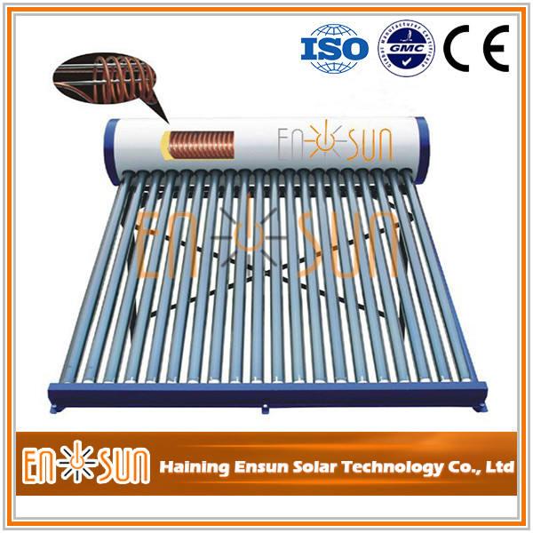 Top Qualidade assegurada qualidade hotsale aquecedor solar de água no interior