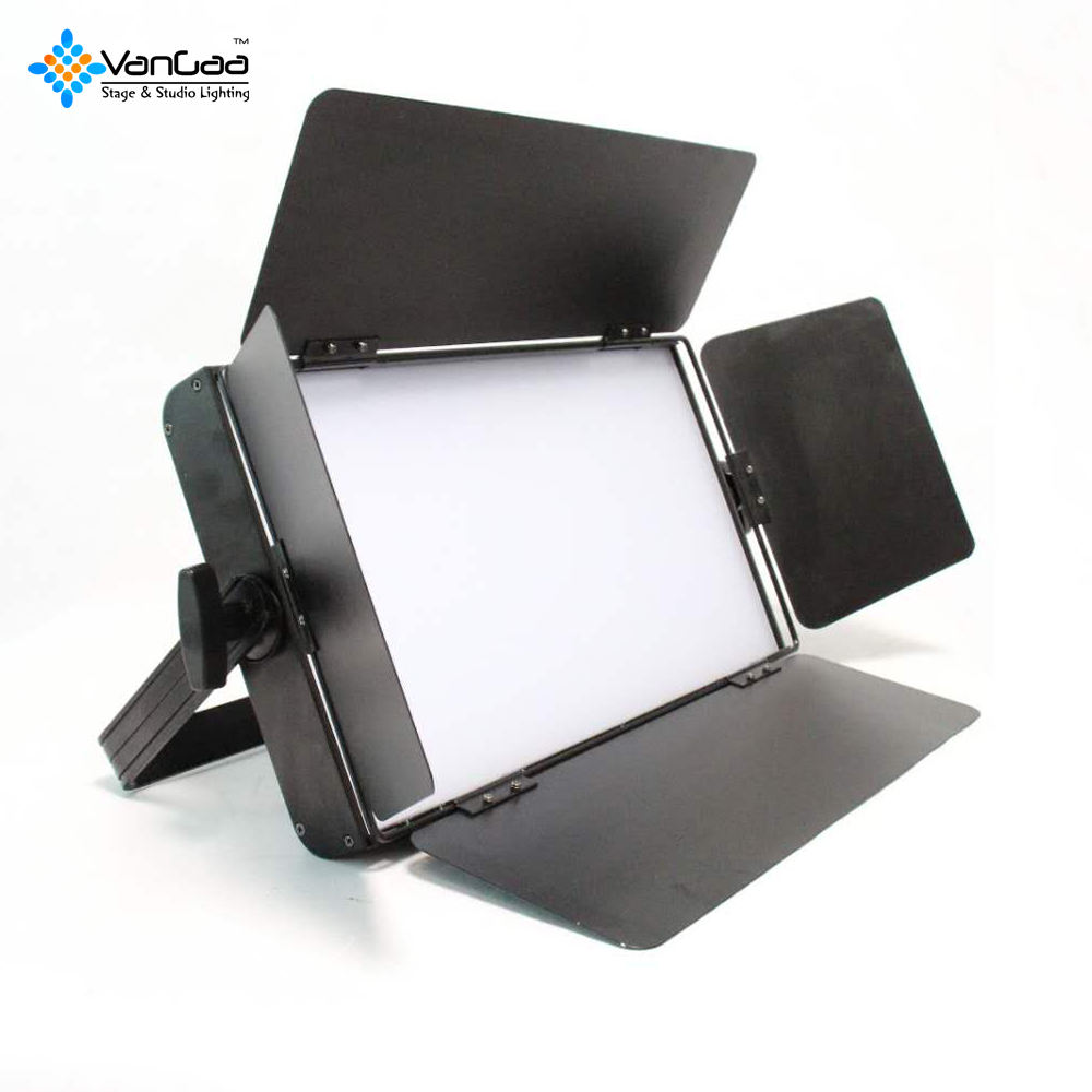 120w Bicolor High Cri 95 Arri Skypanel Lights Barn Door Skylight Display Flat Light Show Led Panel
