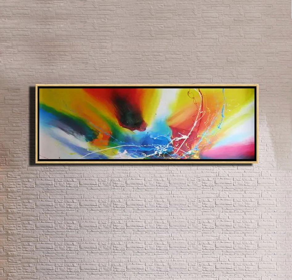 digital photo frame reproductions abstract oil painting on canvas