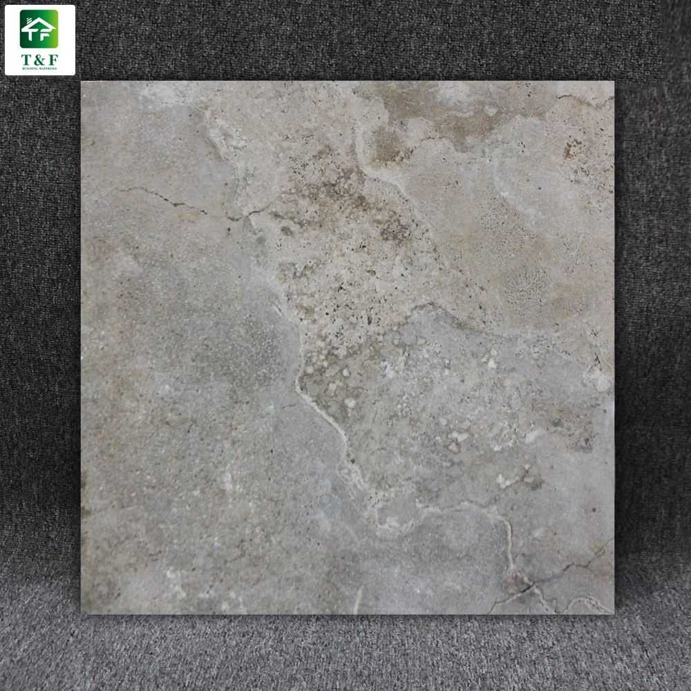 Spain 600X600 Mm Anti Skid Ceramic Tile Slate Look Kitchen And Bathroom Floor Tile