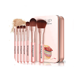New design Professional makeup brush 7pc soft synthetic hair with Plastic handle make up brushes set