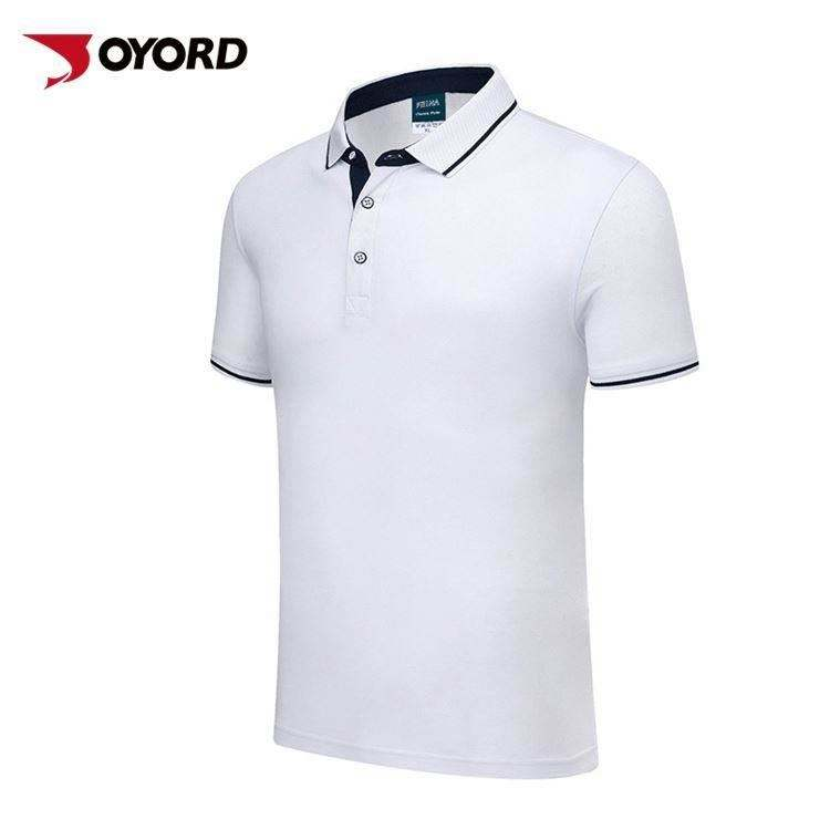 Anti-Pilling Shrink Wrinkle knitting Trading Us Size Golf Polo Tshirts