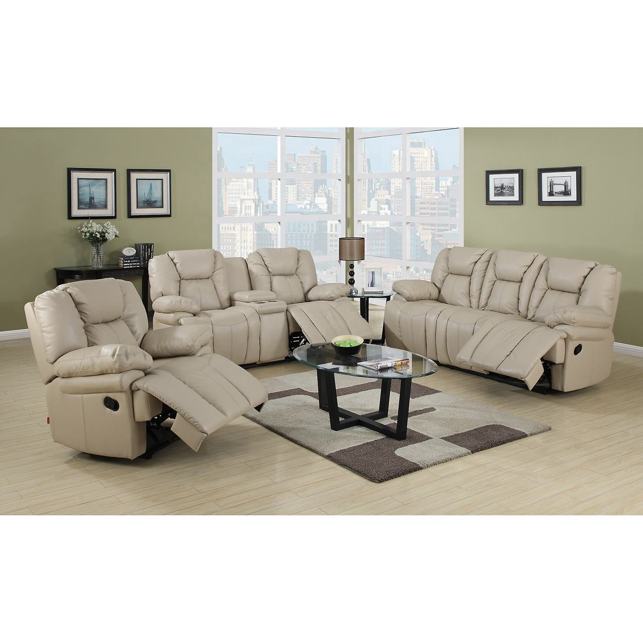 Designed recliner sofa set for living room furniture sofa set 7 seater sectional modern TV recliner chair
