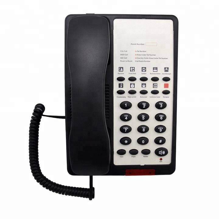 Shenzhen High Quality 10 Groups One-Touch Memories Guest Room Hotel Phone Manufacturer