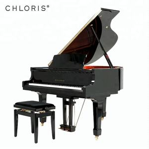Factory price black baby Grand Keyboard Piano from China 88 keys