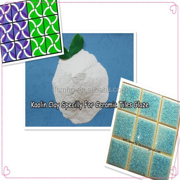 Kaolin Clay Specilly For Ceramic Tiles Glaze