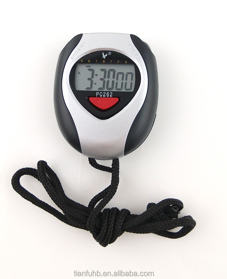 electronic sport timer/stop watch cheap/digital sport watch timer