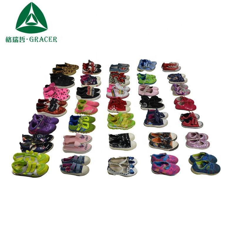 Kids A Grade Used Clothes Second Hand Children Shoes Hot Sale Used Clothing