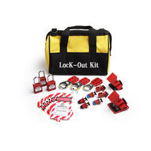Industrial Personal Safety Breaker Lockout Tool Bag Kit
