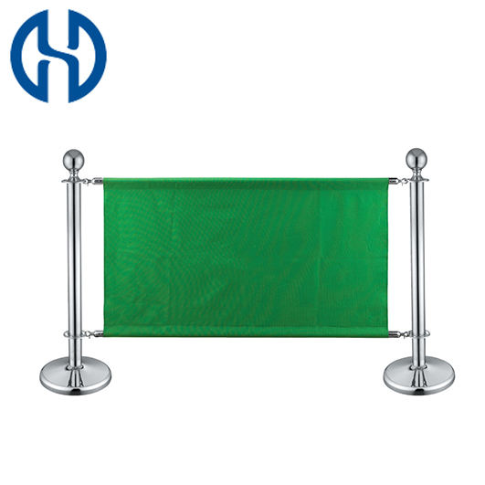 Customized Wind Advertising Banner Coffee Barriers