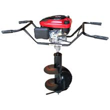 gasoline earth auger, one man hand manual earth soil auger,portable hand ground drill earth auger