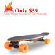 Hot Sale!!! Factory cheap Price Mini Hub Motor skateboard,electric scooter with remote control