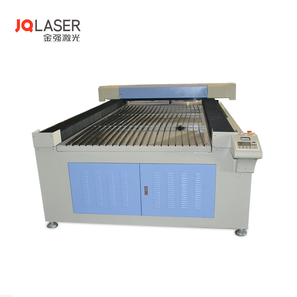 jq cnc co2 laser cutting machine 1300*2500mm for wood plywood / car mat laser cutter