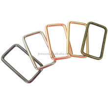 5 Finishes Available Metal Rectangular Bag Rings Buckle Wholesale