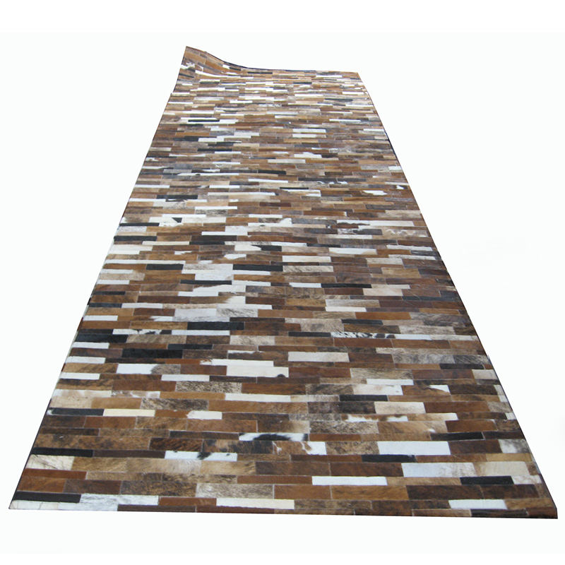 wholesale Made in China high quality modern leather carpet rug from Brazil cowhides