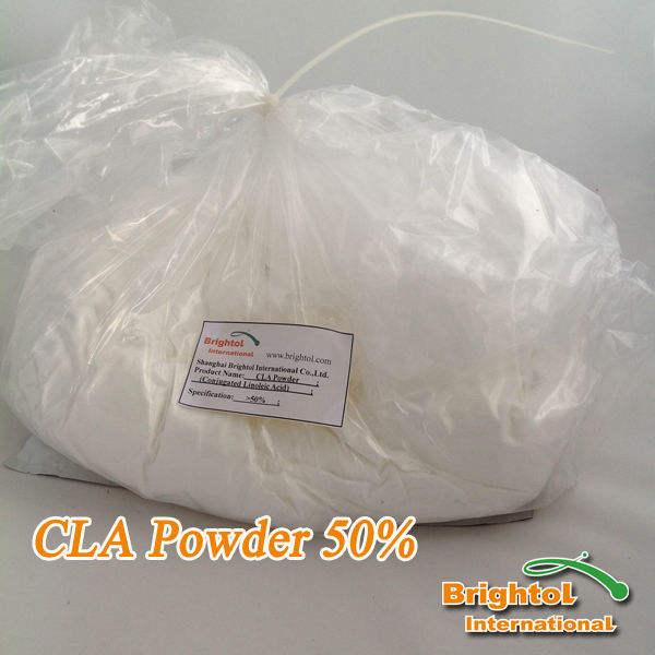 De alta pureza el ácido linoleico conjugado 50% en polvo