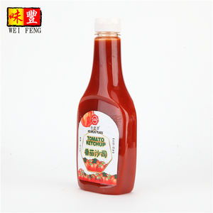 OEM brand Chinese factory tomato ketchup in bulk