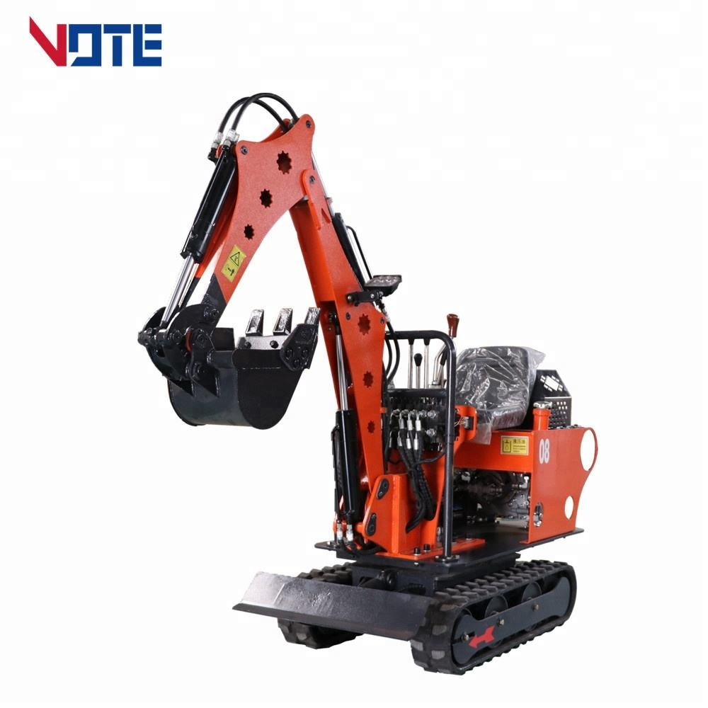 VTW-O8 China 0.8ton mini excavator trench digger soil digging machinery