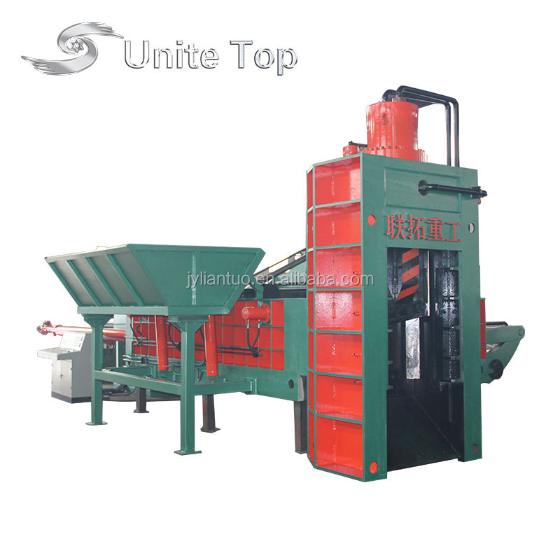 Ydj-6300 High Efficiency Hydraulic Scrap Metal Steel Iron Aluminum Car Metal Shear Baler (CE High Quality)
