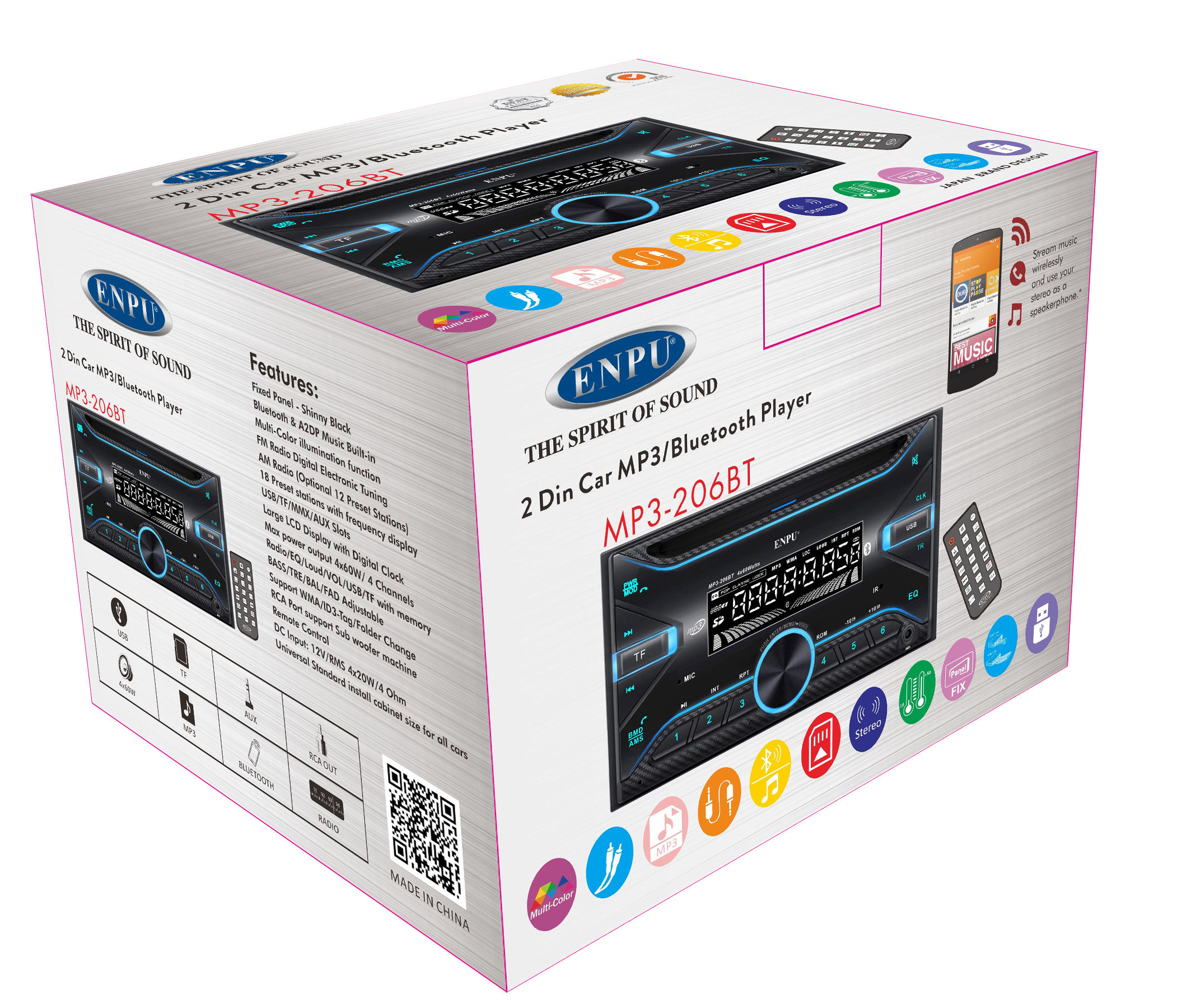 2 Din Android MP3 Pour Toyota Corolla Joueur