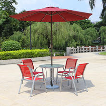 Outdoor Furniture 5 piece aluminum Table Chair Set