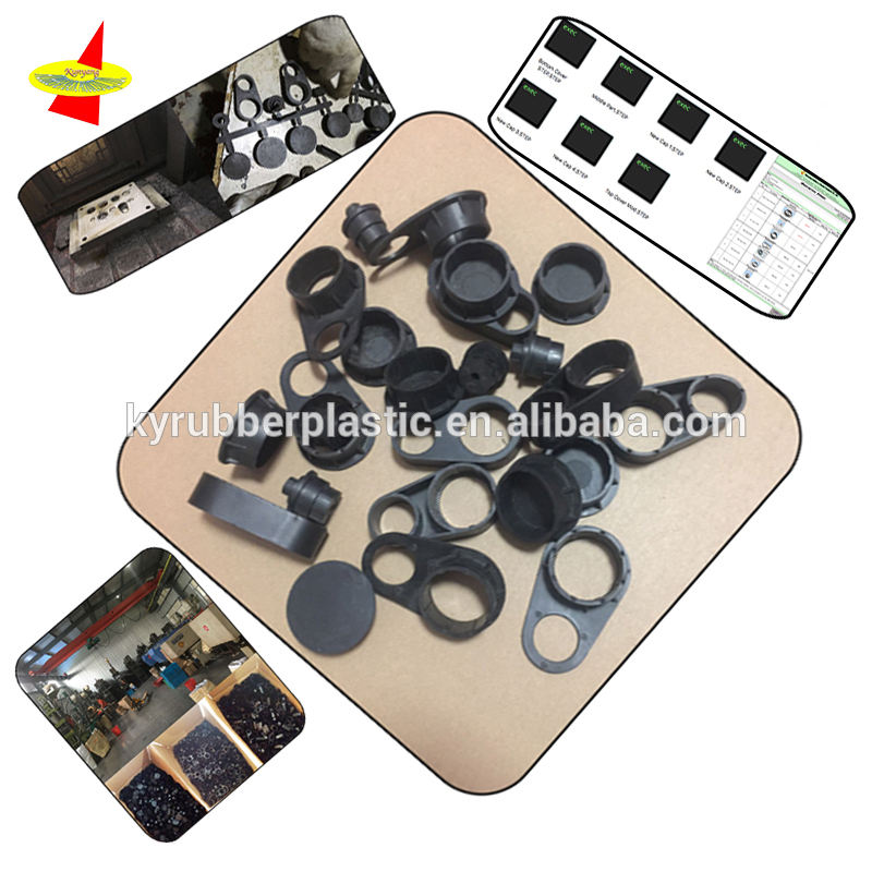 Pa Pvc Plastic Parts Custom Injection Molding Type Flexible High Quality PVC Plastic Accessory Parts At Good Price