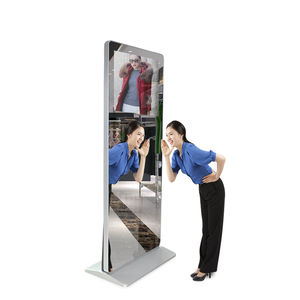 Android Advertising Smart Display Touch Screen Lcd Digital Signage Kiosk Floor Standing Stand 43 Inch Magic Mirror
