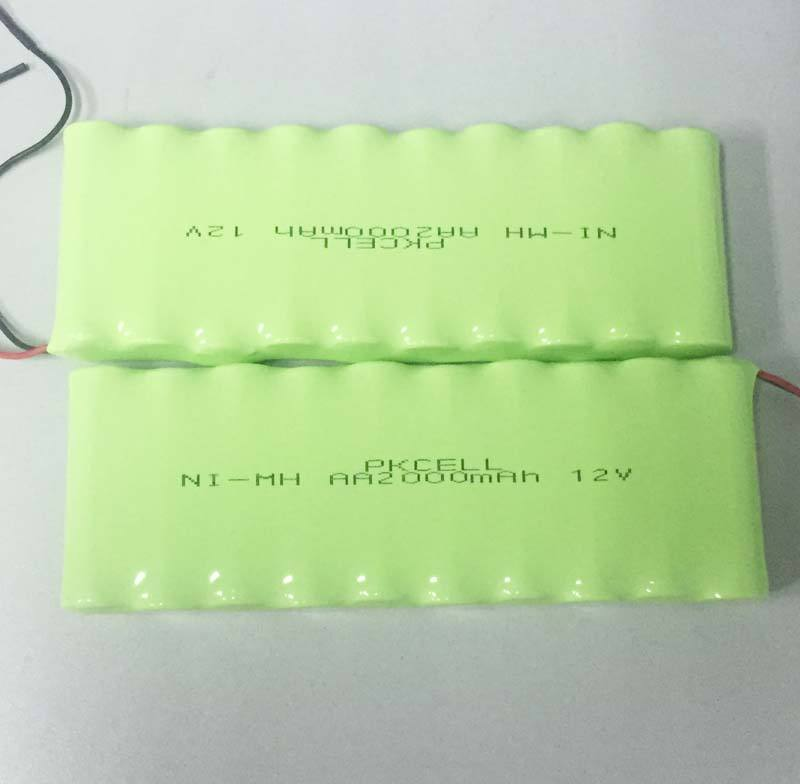 Chinese Factory Price 2000mah aa 12v nimh rechargeable battery pack