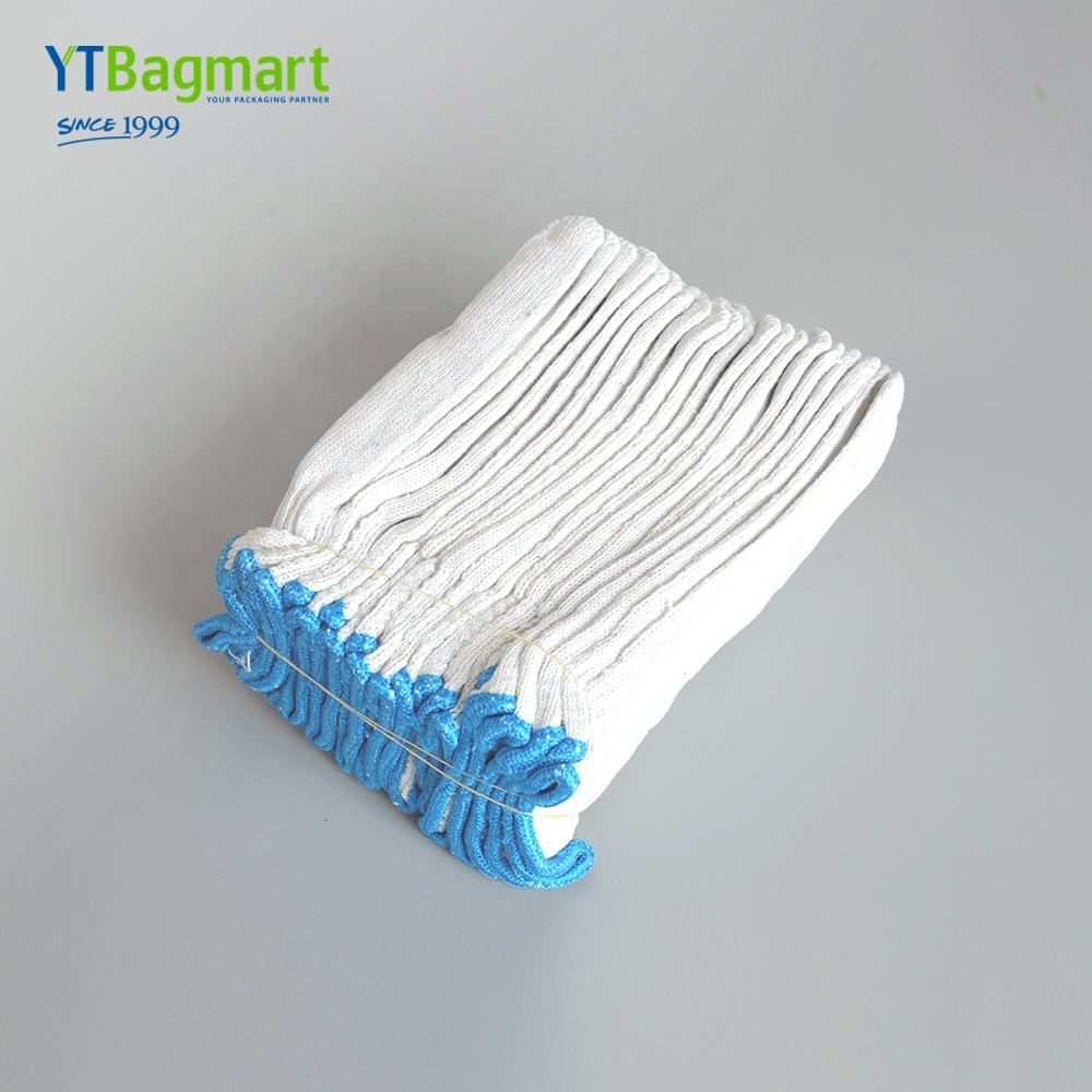 YTBagmart Factory Price Knitted Cotton White Construction Gloves Washable Working Cotton Gloves