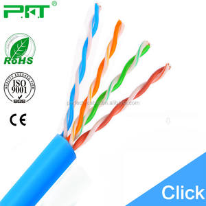 Fast Ethernet speeds 305m 4 pair utp cat5e network cables Standard CAT5 cable