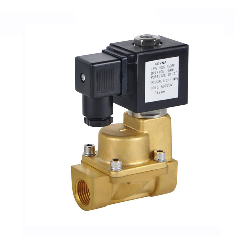 1/2 inch NPT High Temperature Hot Oil Water Steam Electric Solenoid Valve