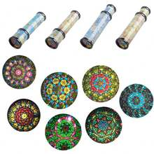 30cm Large Scalable Rotating Kaleidoscopes Extended Rotation Adjustable Fancy Colored kaleidoscope