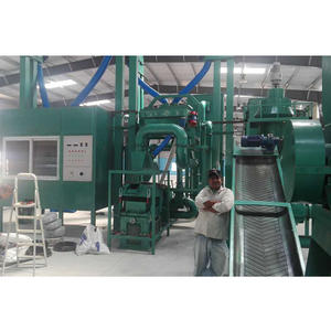 Factory hot sales Large waste pcb recycling line