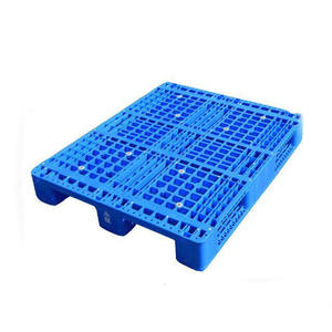 hdpe heavy duty steel reinforced rack able plastic pallets for sale in China