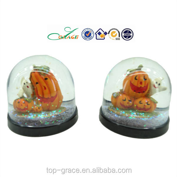 halloween labu tema salju bola dunia resin air