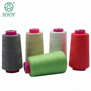 Sewing thread spun Yarn 40S/2 Polyester Cotton Machine Embroidery Thread hilo coser