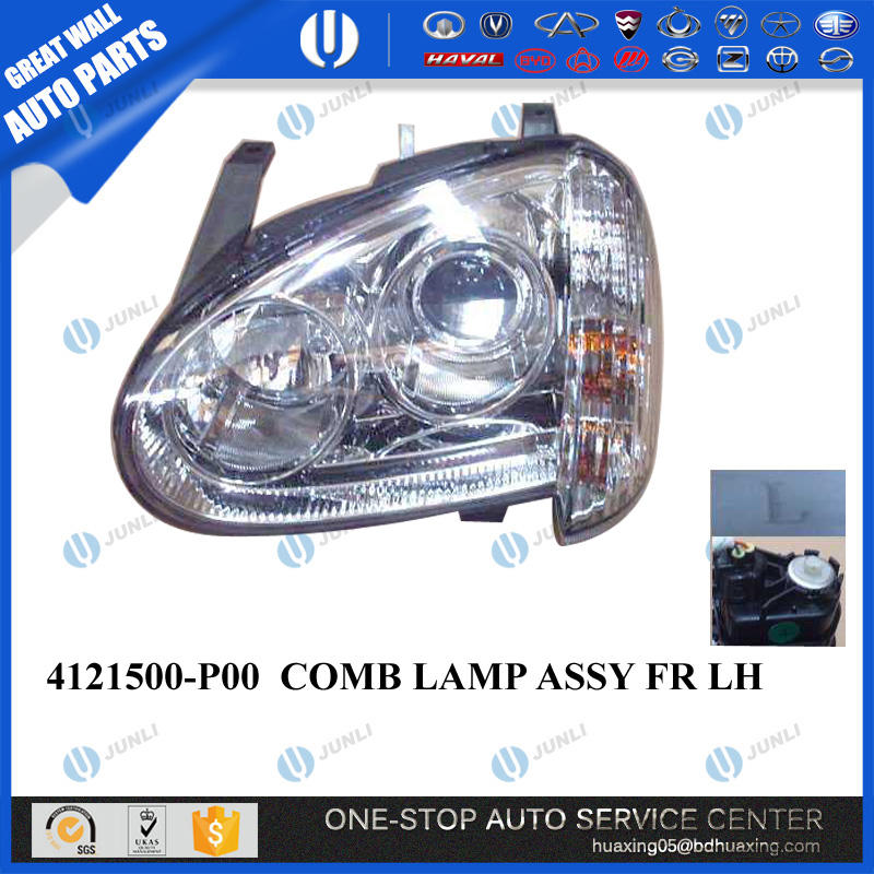 Original Great wall Wingle 3 Front Head Lamp Assembly 4121500-P00 Great Wall Auto Spare Parts
