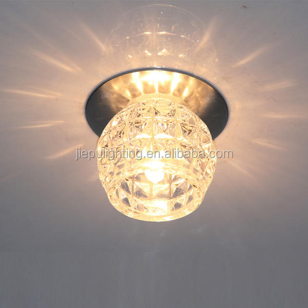 high quality but cheap no dimmable recessed G4 max 20w 12v clear crystal downlight