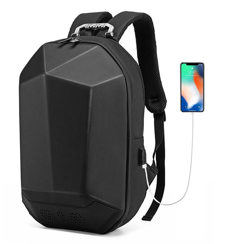New music backpacks speaker singing waterproof EVA shaped anti theft back pack travelling backpack bagpack men smart backpack