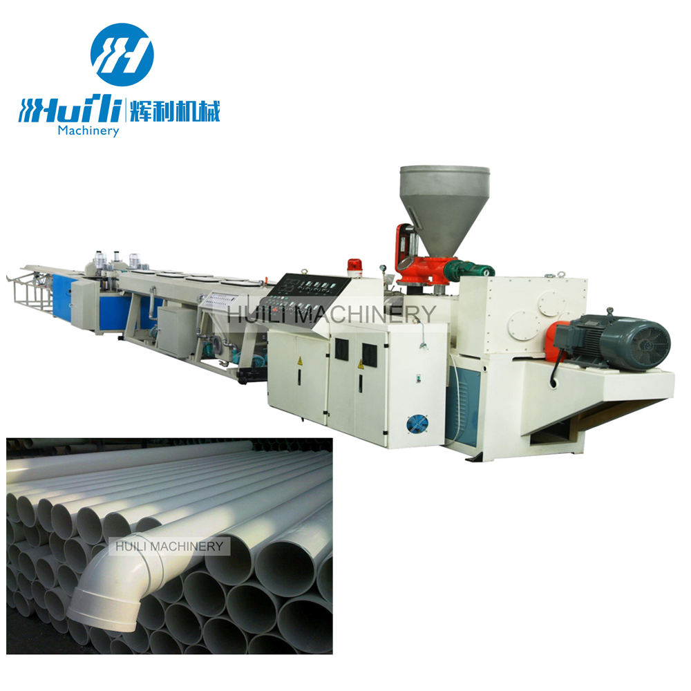 Factory Direct Sale Pipe Extruder Pvc Extrusion Line Tube Plastic Machine Perforated With High Quality